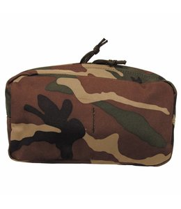 """Utility Pouch, """"Molle"""", big, woodland camouflage"""