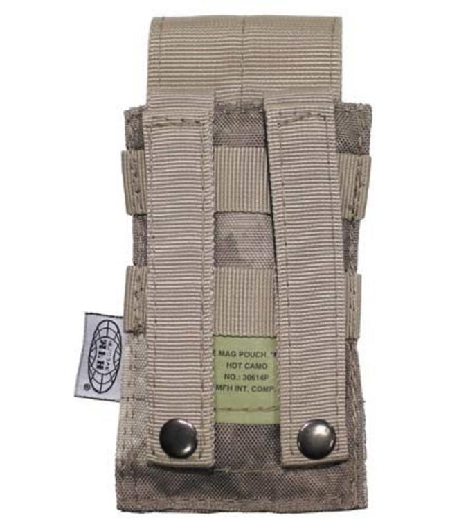 "Ammu Pouch, single, ""Molle"", HDT camouflage"
