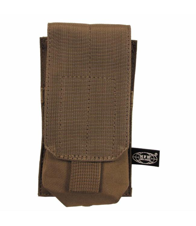 "Ammu Pouch, single, ""Molle"", coyote tan"