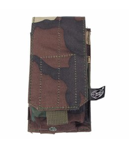 """Ammu Pouch, single, """"Molle"""", woodland camouflage"""