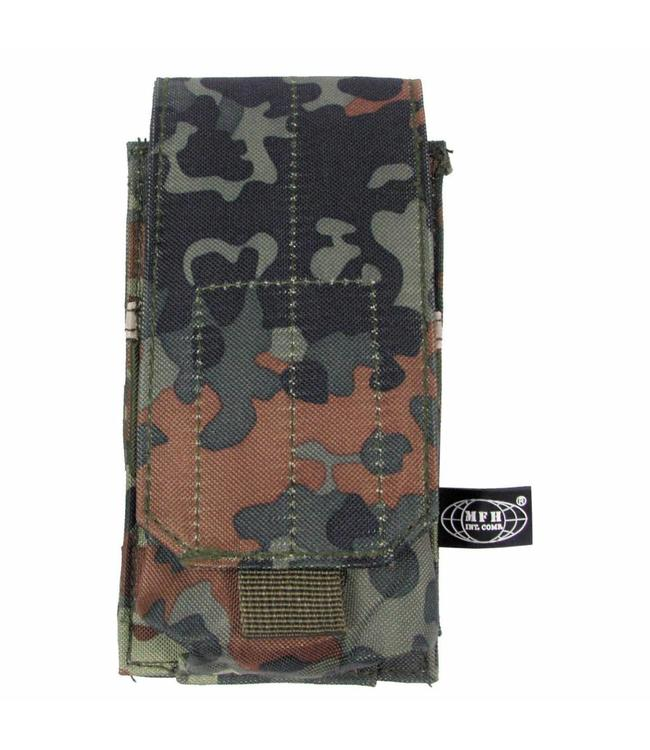 "Ammu Pouch, single, ""Molle"", BW camouflage"