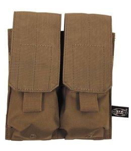 """Ammo Pouch, double, """"Molle"""", coyote tan"""