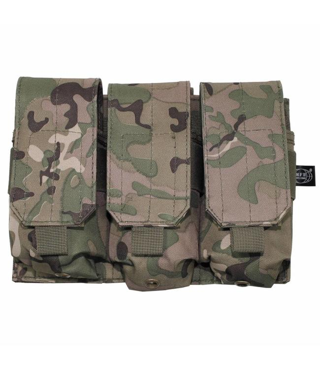 "Ammo Pouch, triple, ""Molle"", operation camouflage"