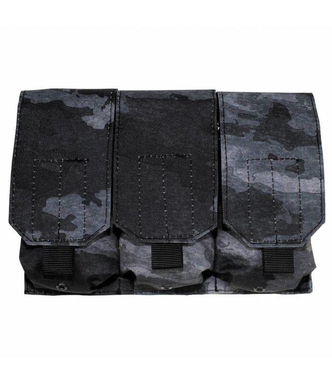 "Ammo Pouch, triple, ""Molle"", HDT camouflage grijs"