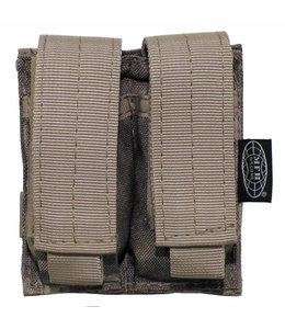 """Ammo Pouch, double, """"Molle"""", small, HDT camouflage"""