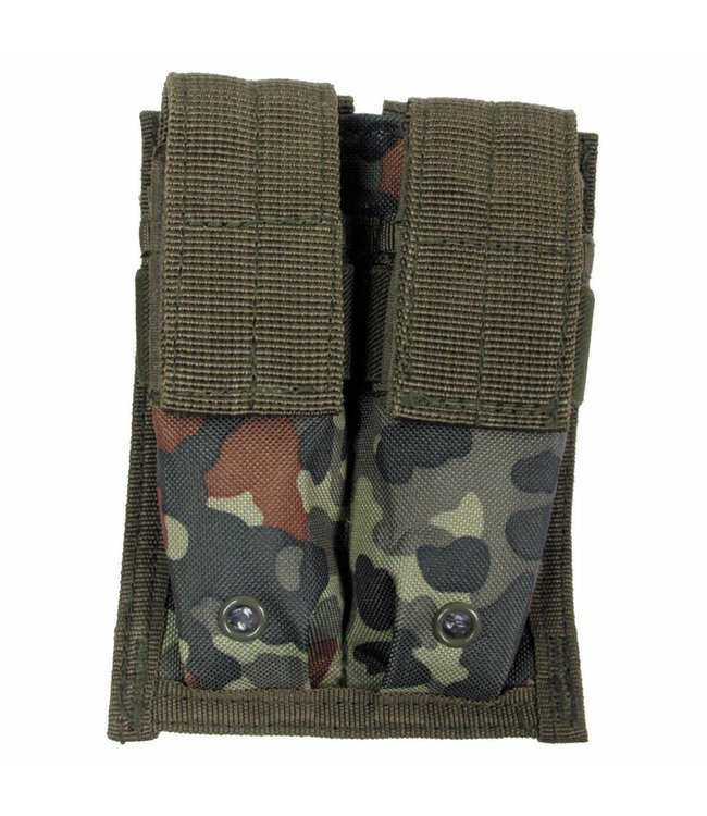 """Ammo Pouch, double, """"Molle"""", small, BW camouflage"""