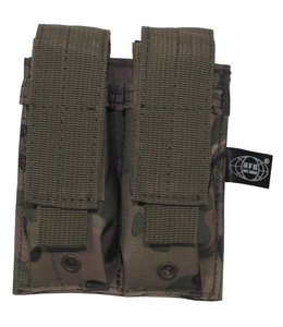 """Ammo Pouch, double, """"Molle"""", small, operation camouflage"""
