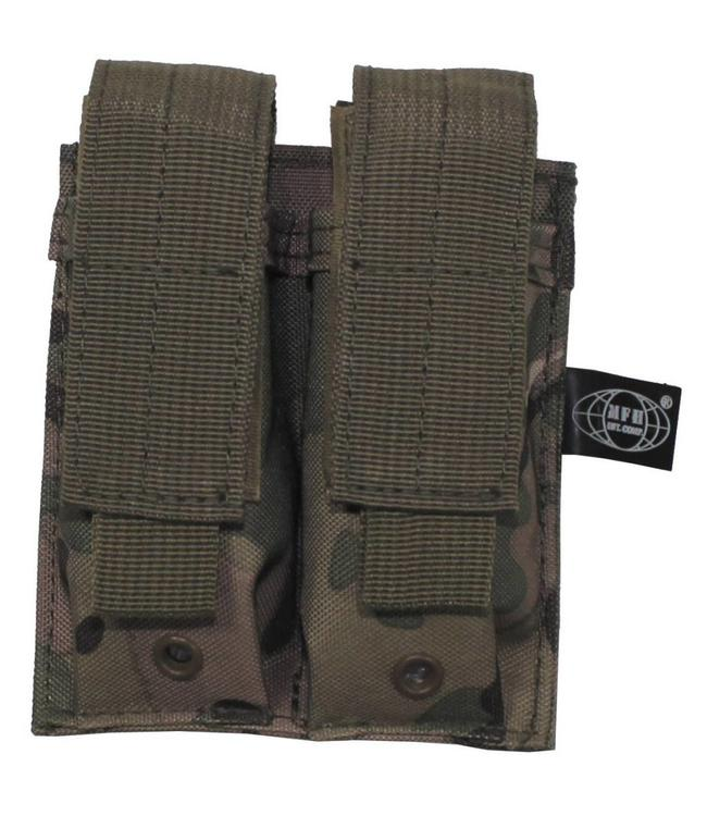"Ammo Pouch, double, ""Molle"", small, operation camouflage"