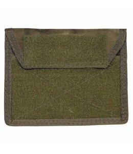 "Chest Pouch met Klittenband, ""Molle"", HDT camouflage Groen"