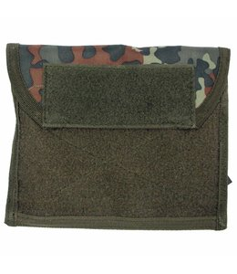 """Chest Pouch met Klittenband, """"Molle"""", BW camouflage"""