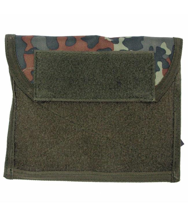 "Chest Pouch met Klittenband, ""Molle"", BW camouflage"