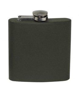 Flakon/zakfles RVS (veldfles), RVS, OD Groen, 170 ml
