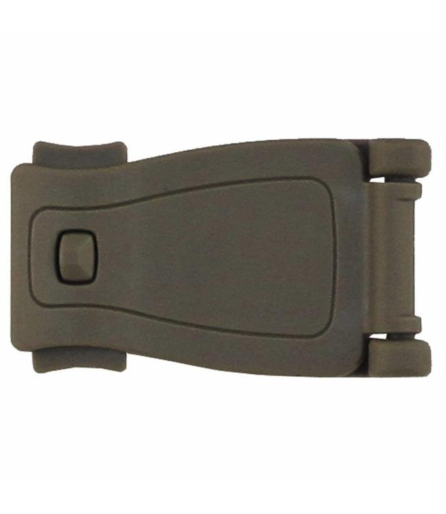 "Adapter-Clip, plastic, ""Molle"", coyote"