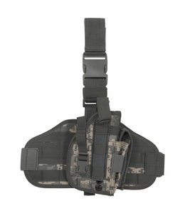 """Tactical Holster, """"Molle"""", leg- and belt fixing, AT-digi."""
