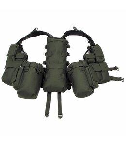 Tactical Vest, OD Groen, met verschillende vakken