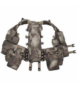 Tactical Vest, HDT camouflage, met verschillende vakken