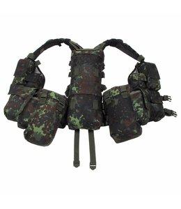 Tactical Vest, BW camouflage, met verschillende vakken