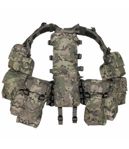 Tactical Vest, operation camouflage, met verschillende vakken