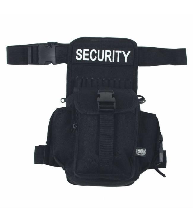 """Heuptas, """"SECURITY"""", Zwart"""