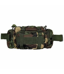 Heup- en schoudertas, Woodland camouflage