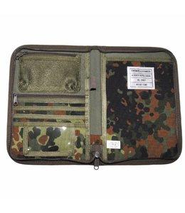 Writing Case, A5, BW camouflage, Cordura