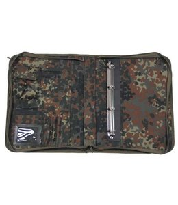 Writing Case, met map cover, BW camouflage