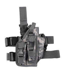 Tactical Holster, AT-digital, leg- and belt fixing