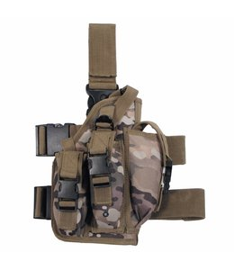 Tactical Holster, coyote tan, leg- and belt fixing