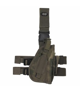 Tactical Holster, HDT camouflage Groen, right