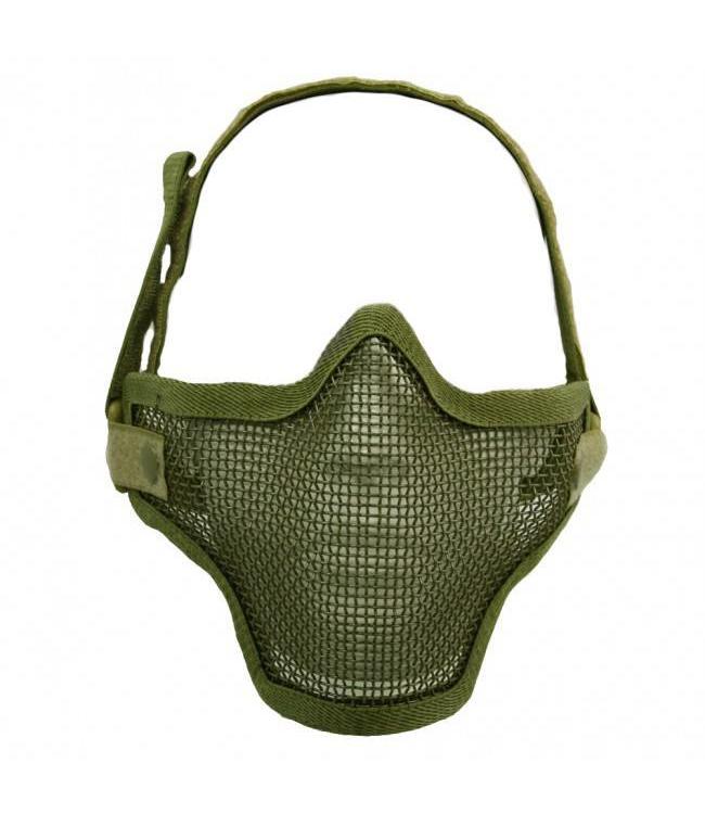 Airsoft metal mesh masker Groen