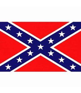 Rebel vlag confederate (100x150cm)