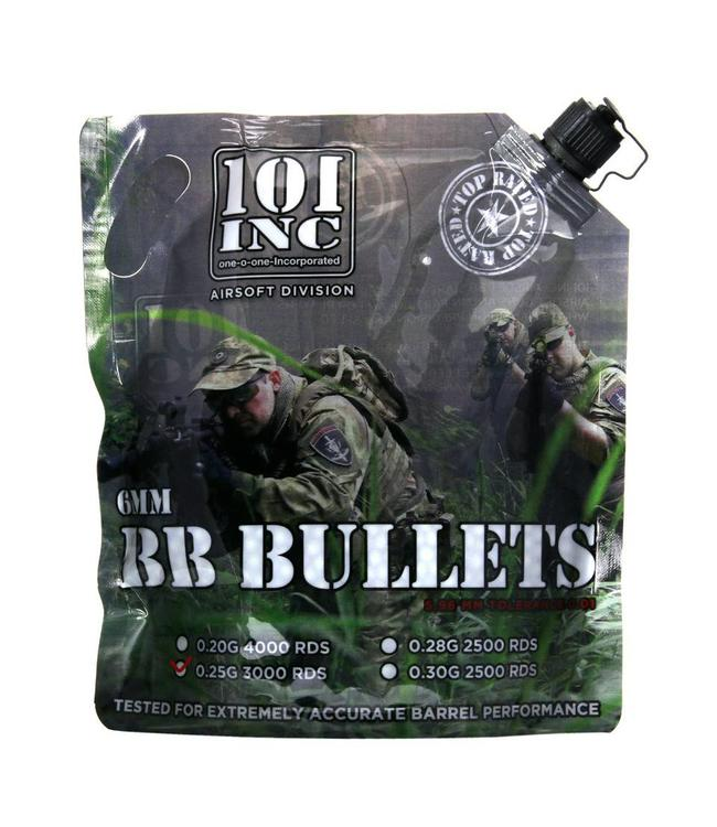 Airsoft extreme BBs 0.25g 6mm bag grey grey
