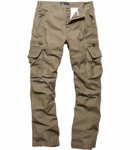 Vintage Industries Rico pants olive cargo broek