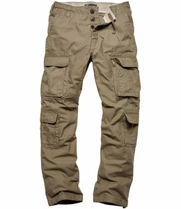 Vintage Industries Pack pants olive cargo broek