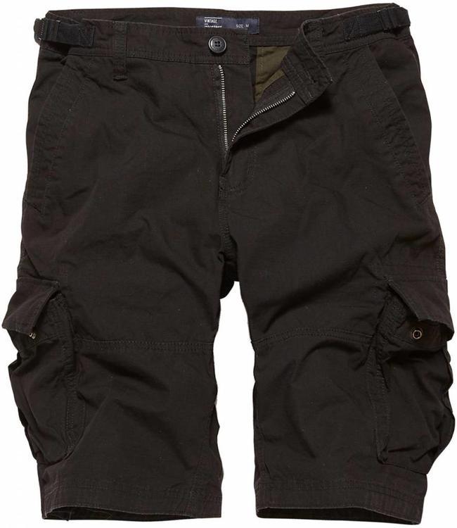 Vintage Industries Terrance shorts korte broek black