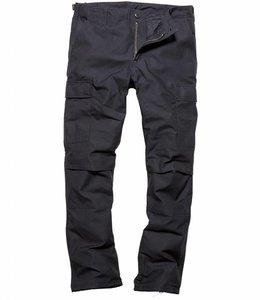Vintage Industries BDU pants blauw cargo broek