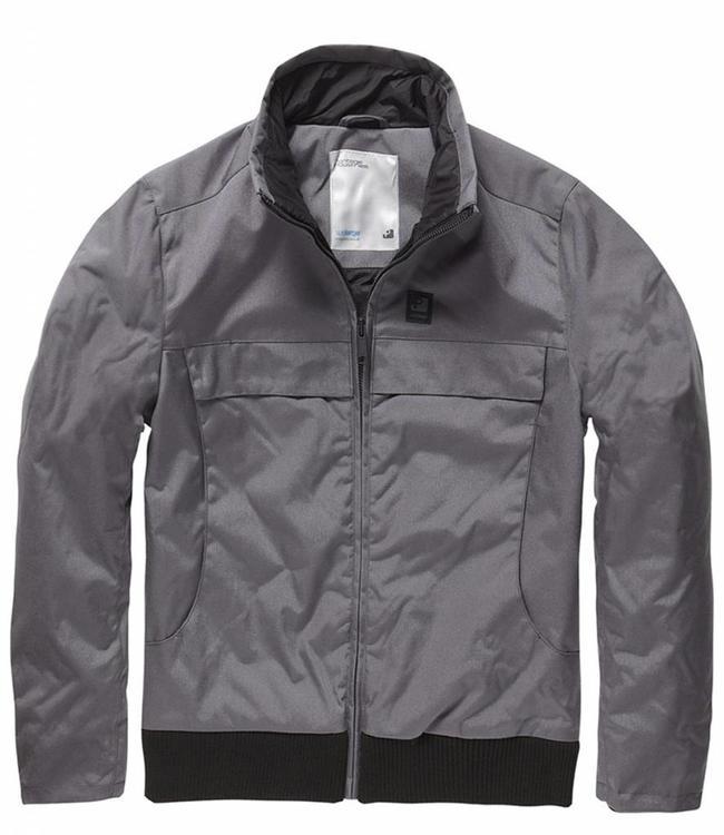 Vintage Industries Ronan jacket winterjas grey