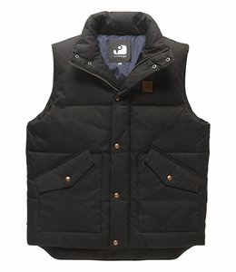 Vintage Industries Newbury bodywarmer black