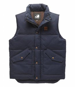 Vintage Industries Newbury bodywarmer bright navy