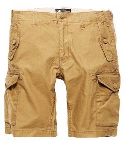 Vintage Industries Marchfield premium shorts korte broek dark khaki