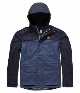 Vintage Industries Leap jacket zomerjas navy/midnight