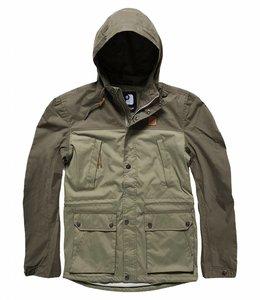 Vintage Industries Leap jacket zomerjas olive/light olive