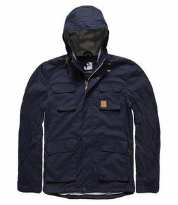 Vintage Industries Tyler zomerjas jacket navy