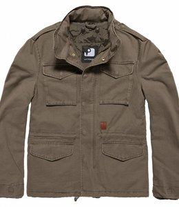 Vintage Industries Dave M65 jacket winterjas olive