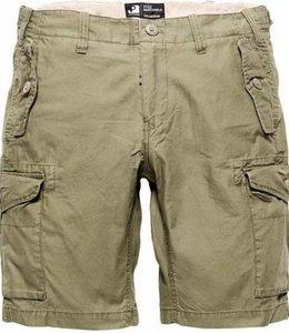 Vintage Industries Marchfield premium shorts korte broek olive drab