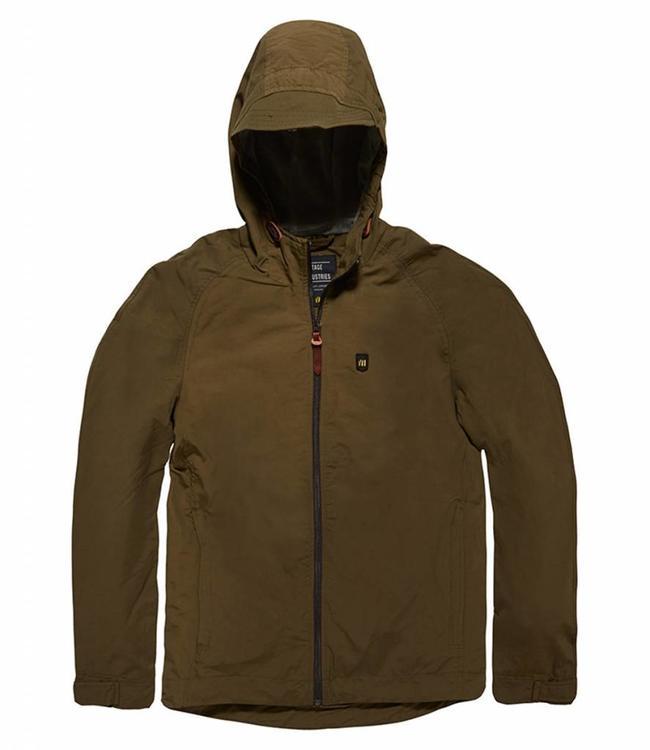 Vintage Industries Dawson jacket zomerjas olive
