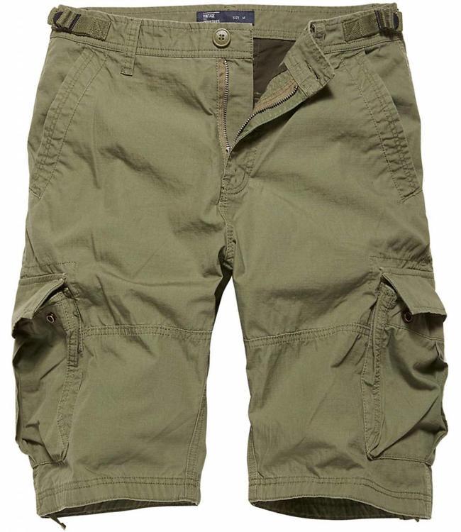 Vintage Industries Terrance shorts korte broek olive drab