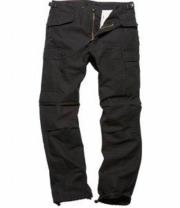 Vintage Industries Miller M65 pants dark olive cargo broek