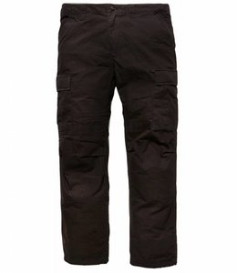 Vintage Industries Tyrone BDU pants black cargo broek
