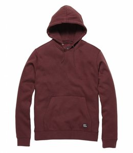 Vintage Industries Derby hooded Sweater cranberry